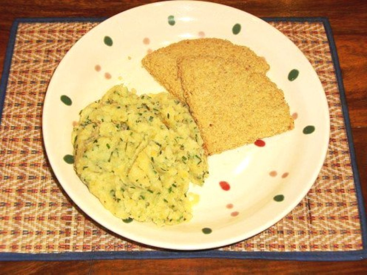 Scottish Oatcakes--Traditional Recipe