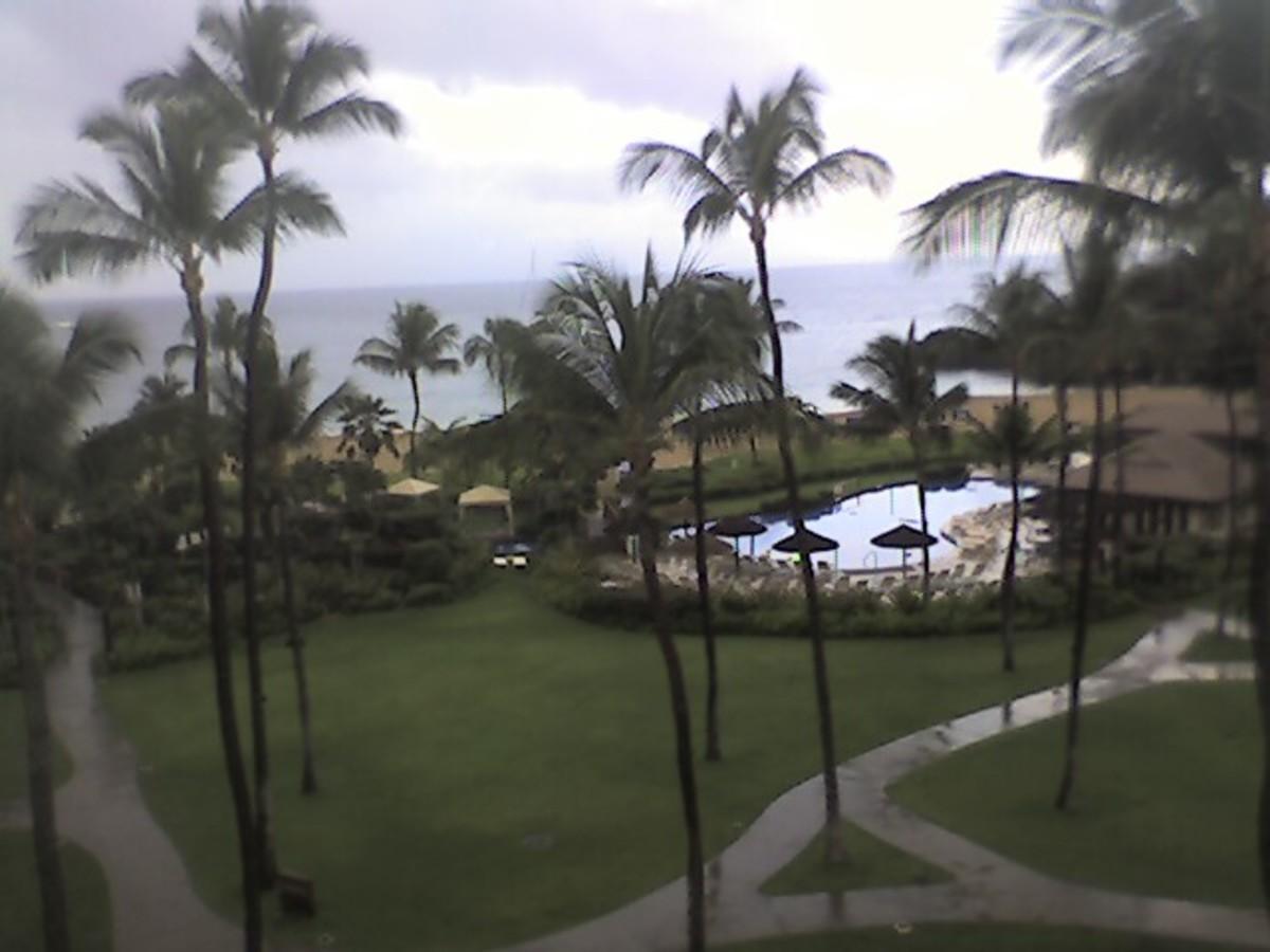 The Sheraton Maui Resort, Location for Zero Limits II