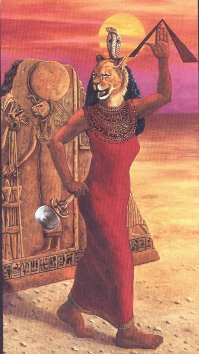 Egyptian Goddess Sekhmet/Sachmet