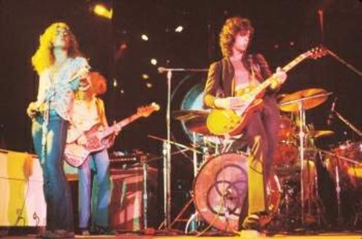 Classic Rock & Roll Bands of the 1960s and 1970s