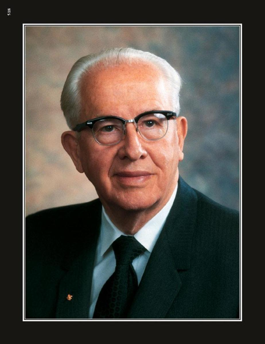 """Ezra Taft Benson, gave a landmark talk called, """"Beware of Pride"""", in which several of these issues are discussed in detail."""