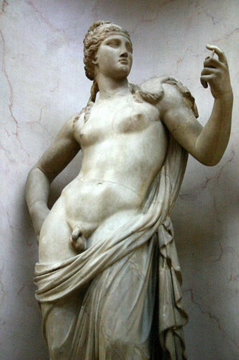 Hermaphrodite Statue