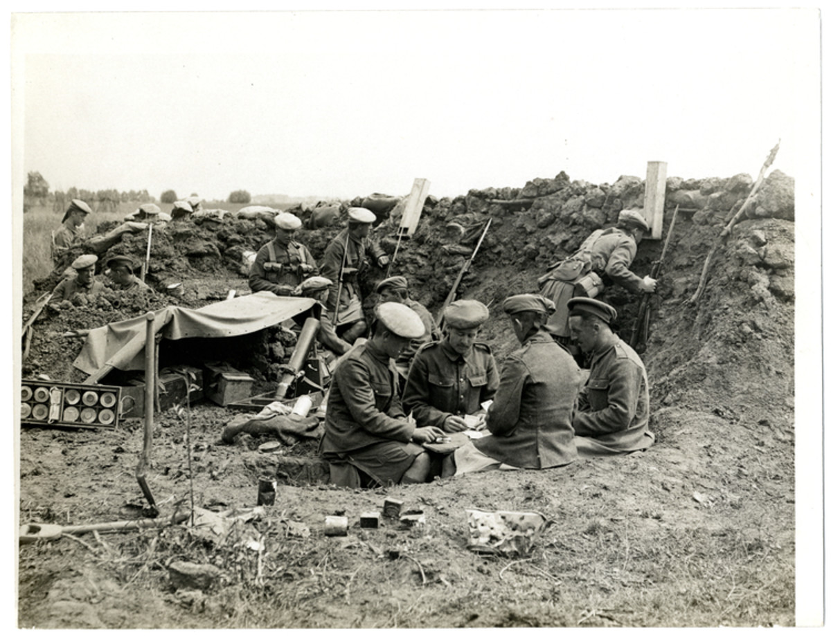 World war one the lonely life in the trenches