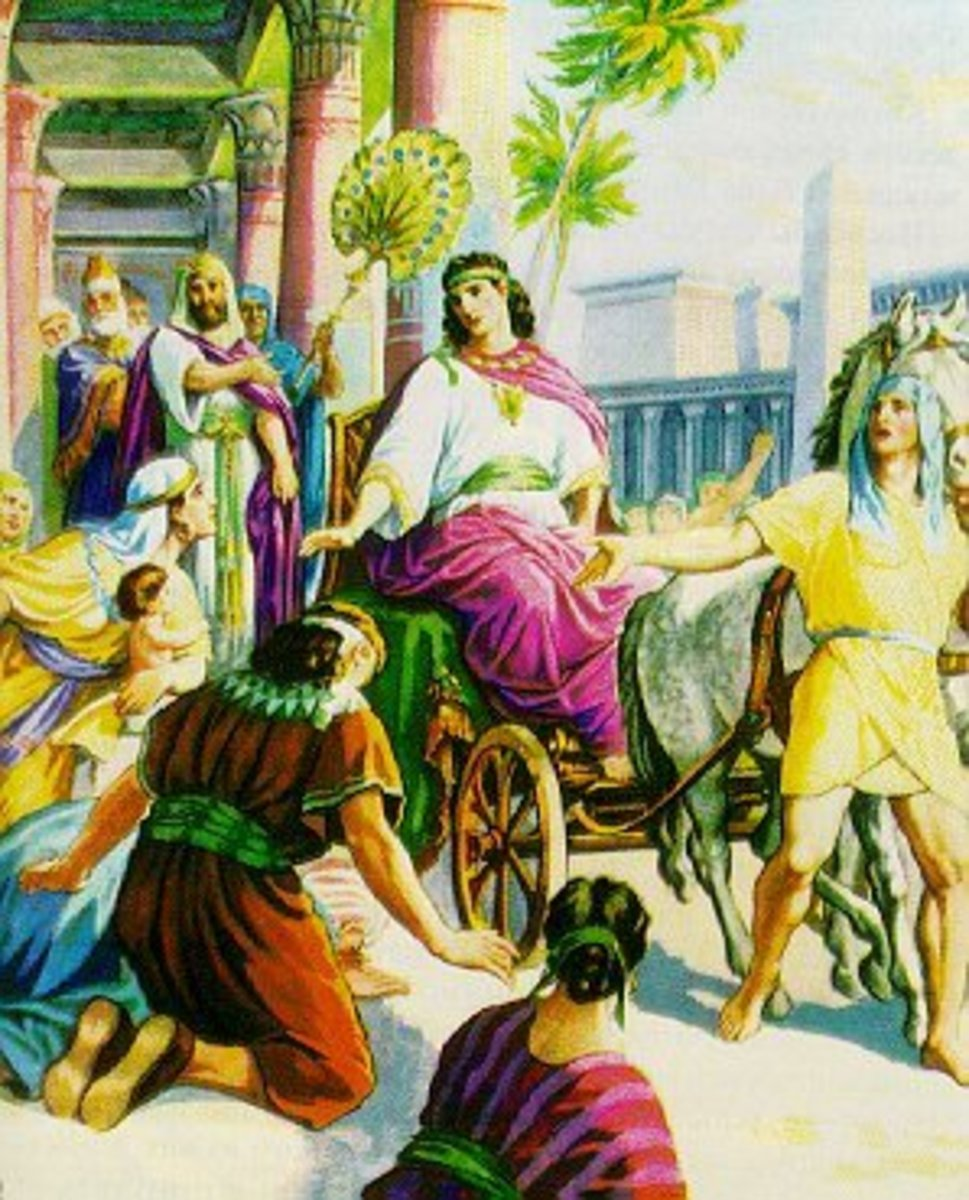 Joseph becomes a ruler in Egypt.