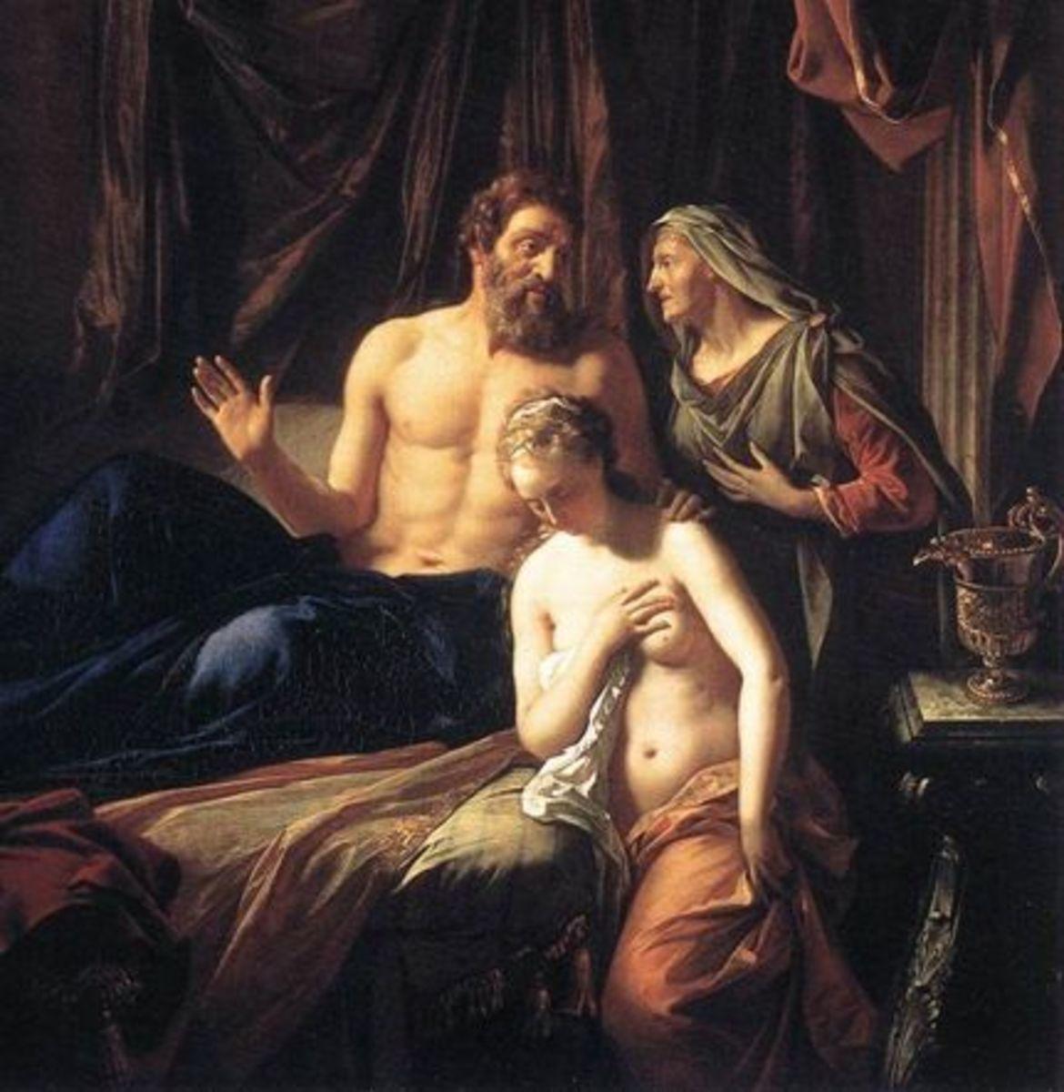 Adriaen van der Werff, Sarah presenting Hagar to Abraham