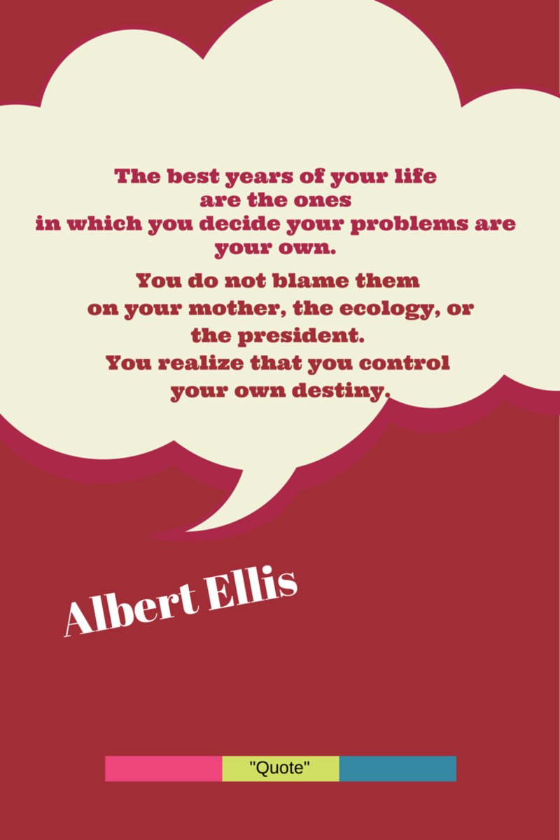 The Albert Ellis ABC Model