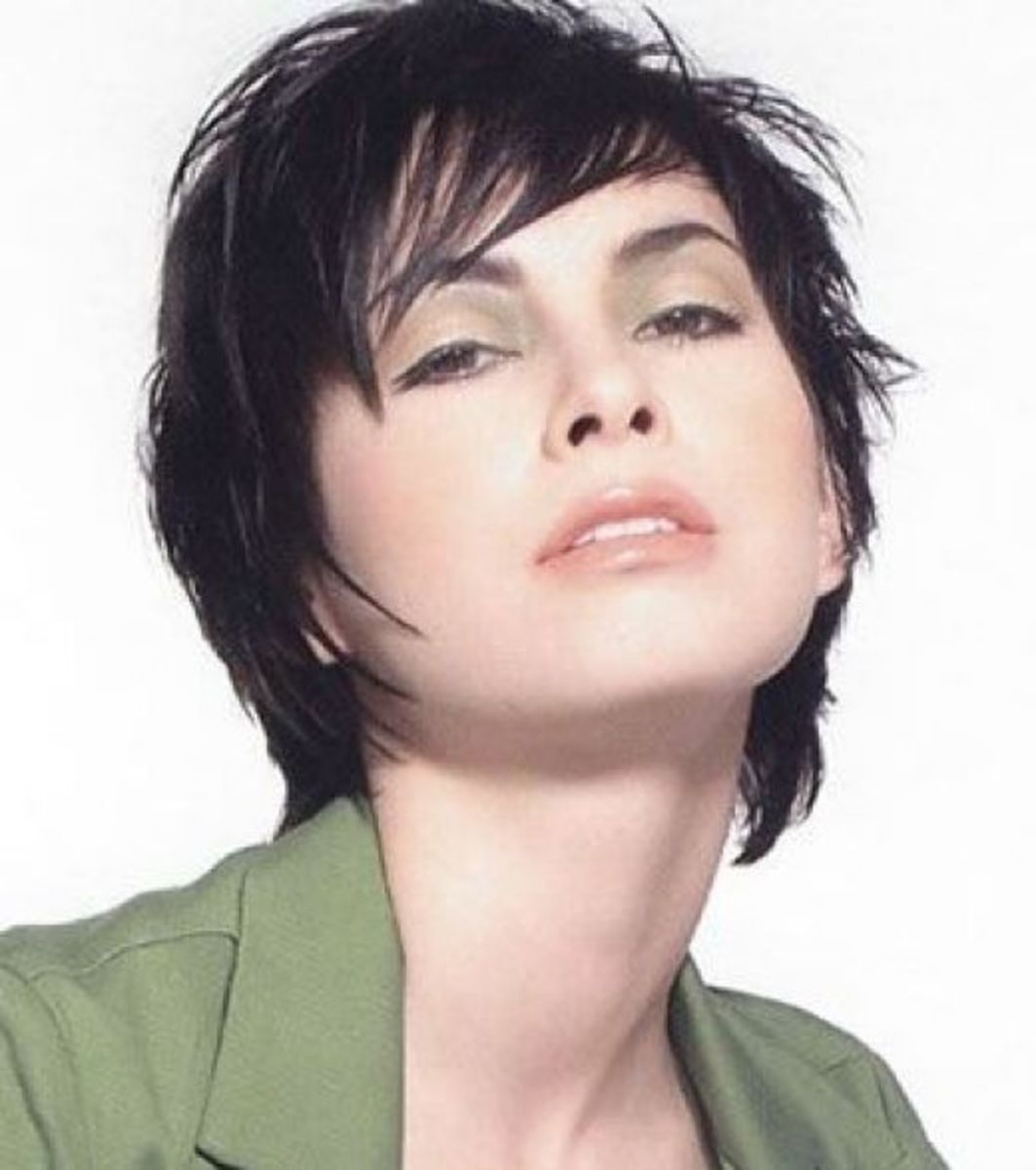 Short Spikey Female Haircuts & Hairstyles Pictures