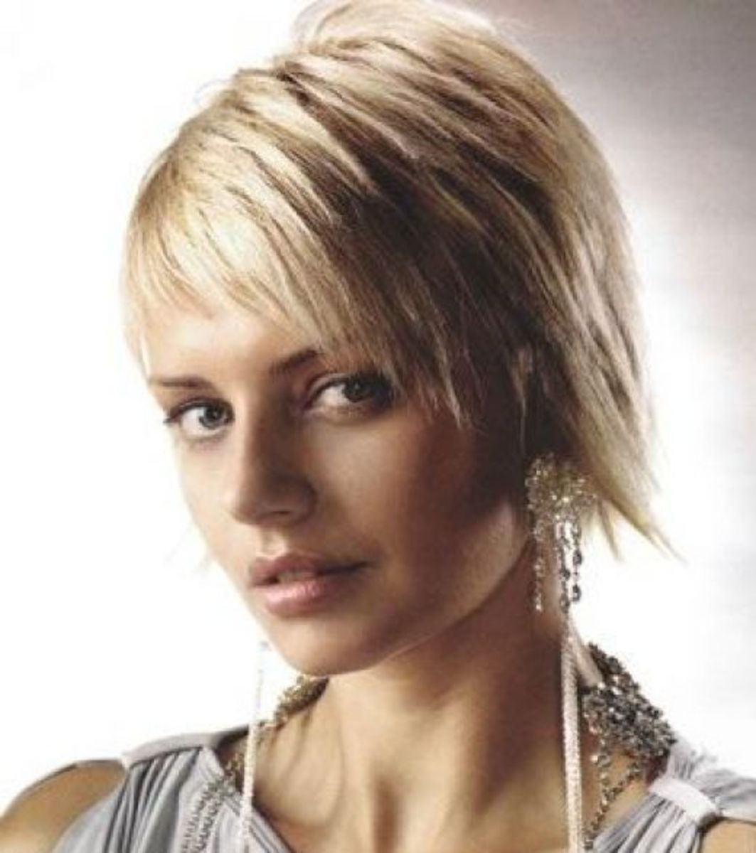 short choppy hairstyles pictures