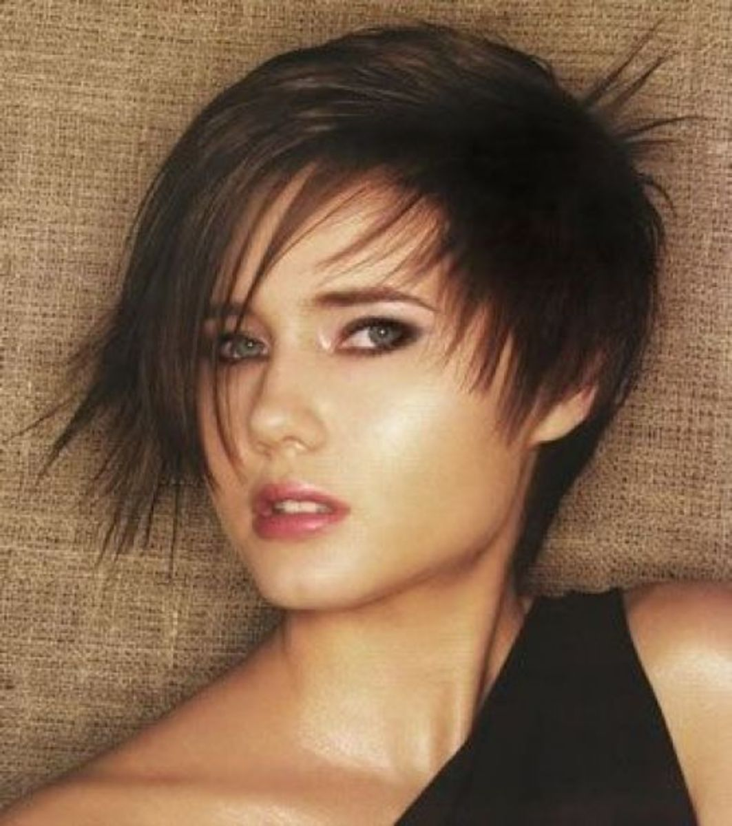 Layered Short Hair Styles
