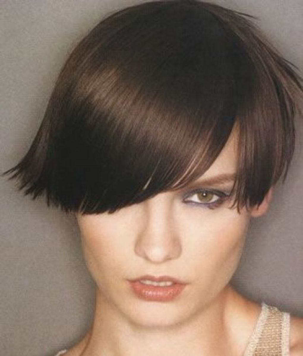 short razor cut haircuts for women