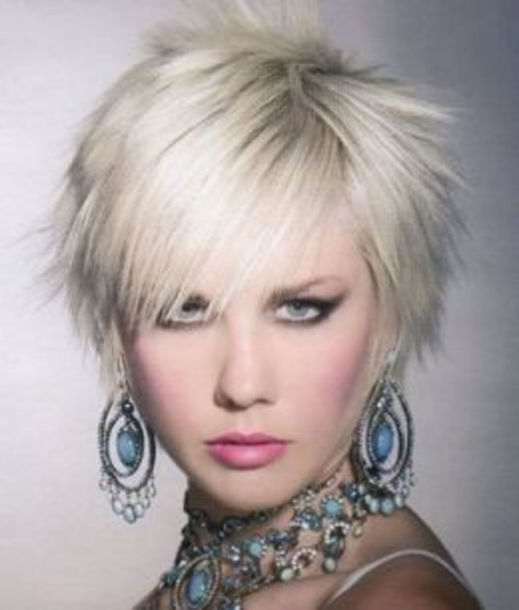 Pictures Of Funky Short Hair Styles