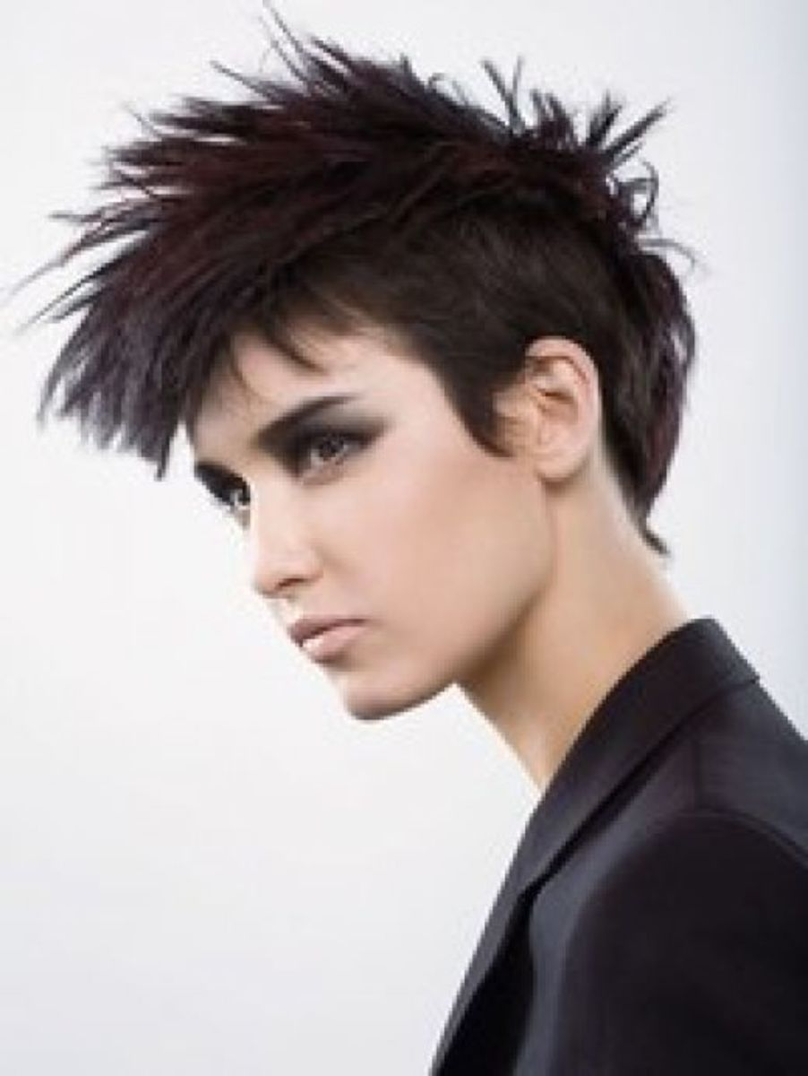 short punk haircuts for stylish girls