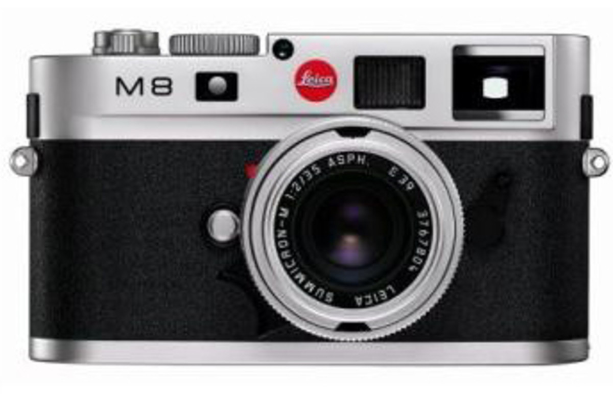Leica M8 10.3MP Digital Rangefinder Camera