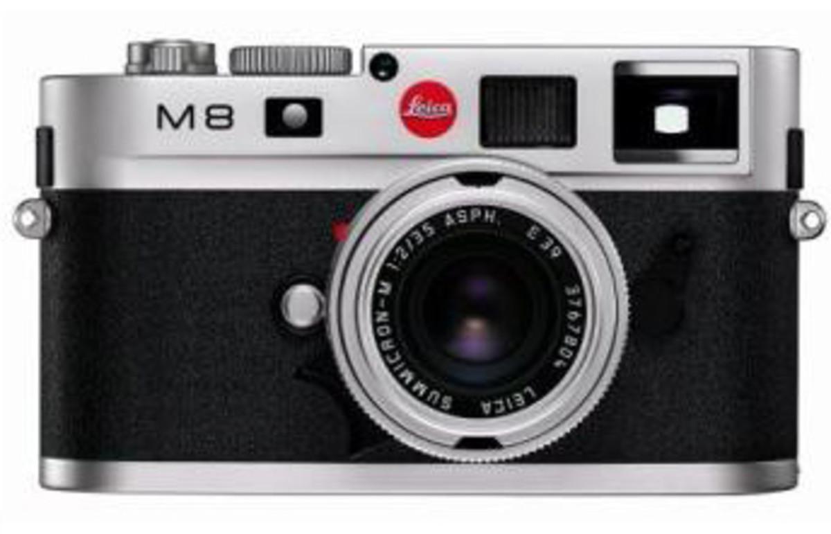 Leica M8 10.3MP Digital Rangefinder Camera