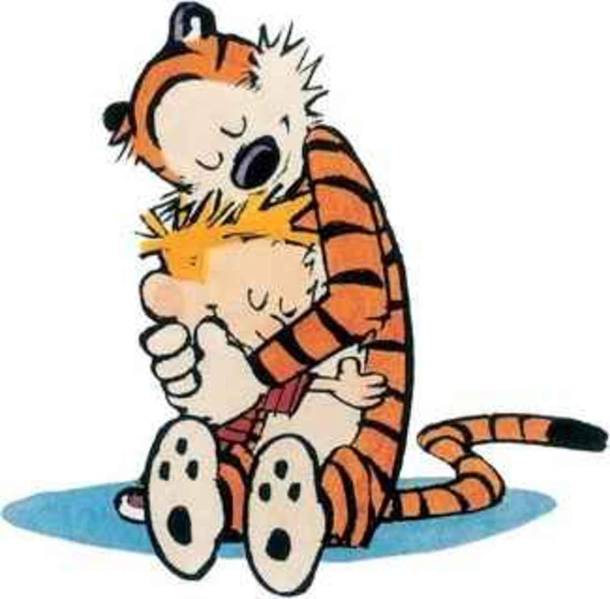 Calvin and Hobbes - together forever