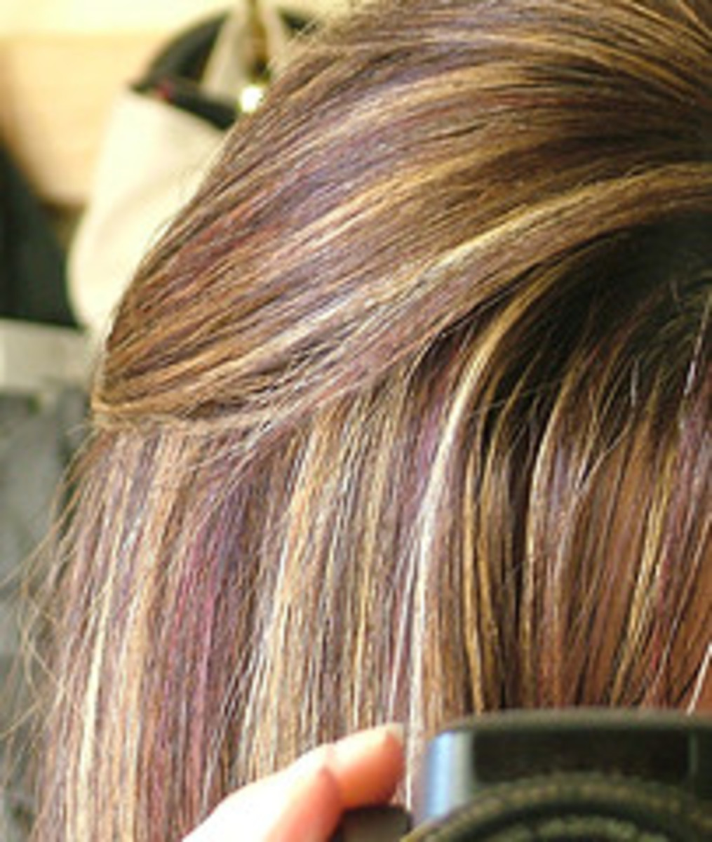 Light Brown Hair Color with Highlights
