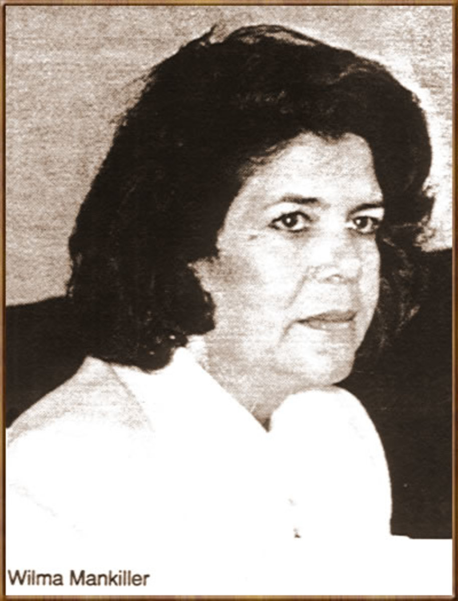 Wilma Mankiller came from a large family that spent many years on the family farm in Oklahoma