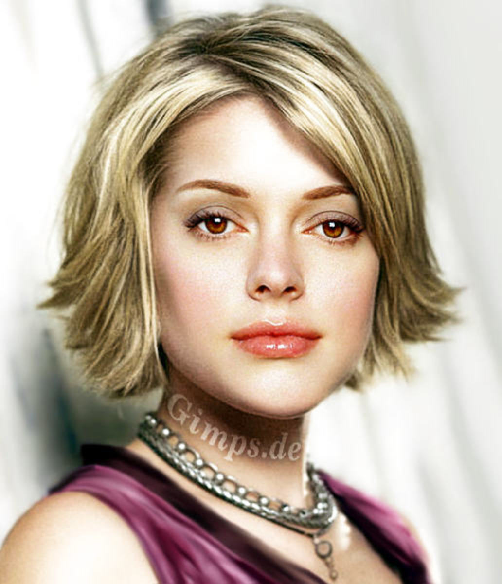 short sedu hair styles for blonde colored hair