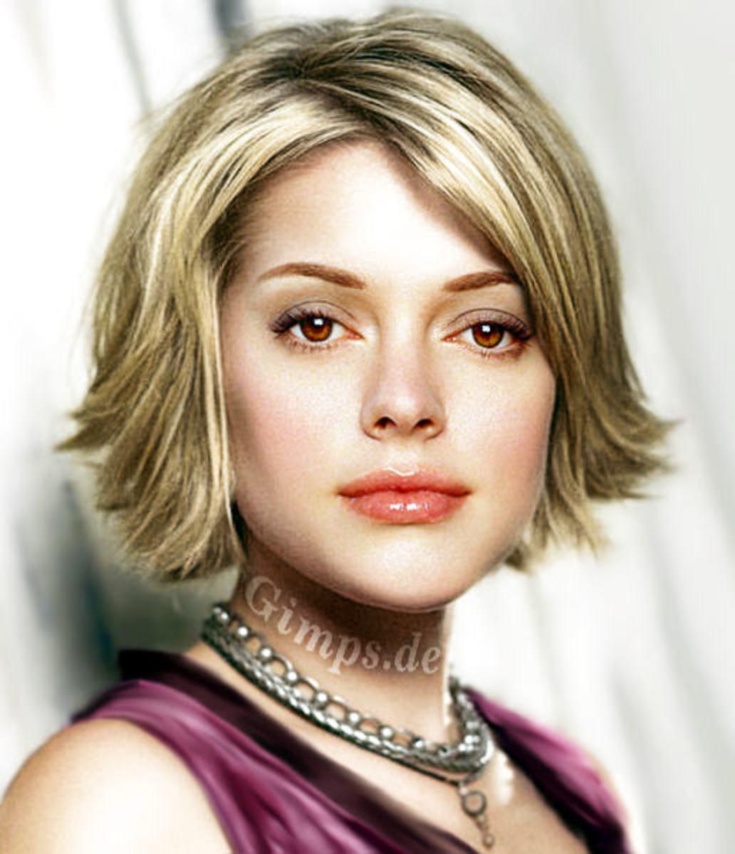 short sedu hair styles for blonde colored hair