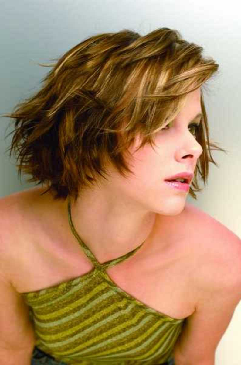 medium hairstyles for women with thin hair. This is a bob for thin hair