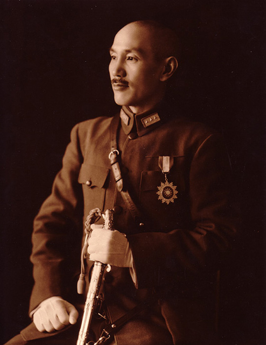 Chiang Kai-Shek, Generalissimo of China. (October 31, 1887 - April 5, 1975)