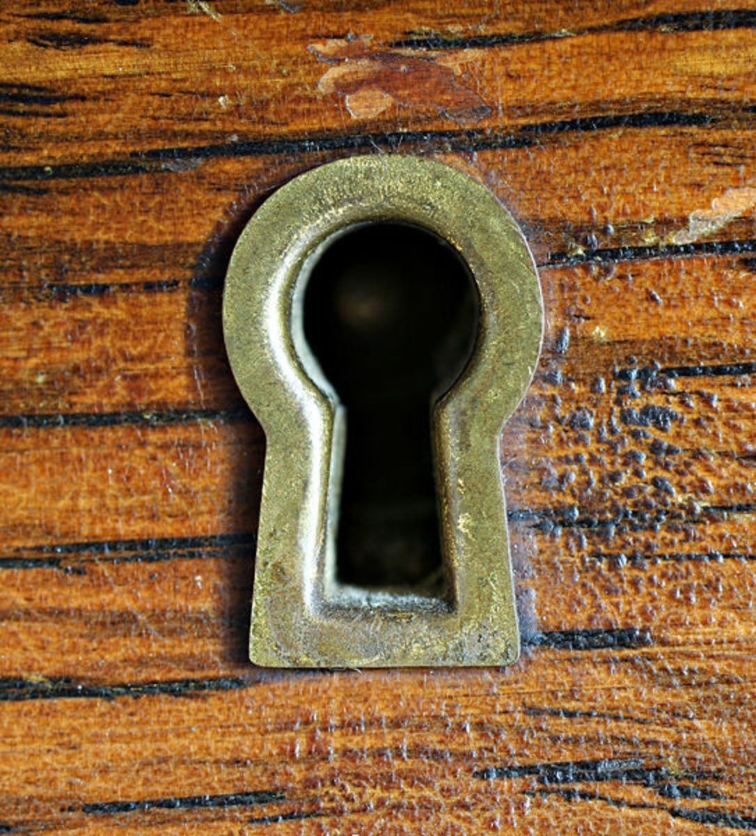 A warded lock