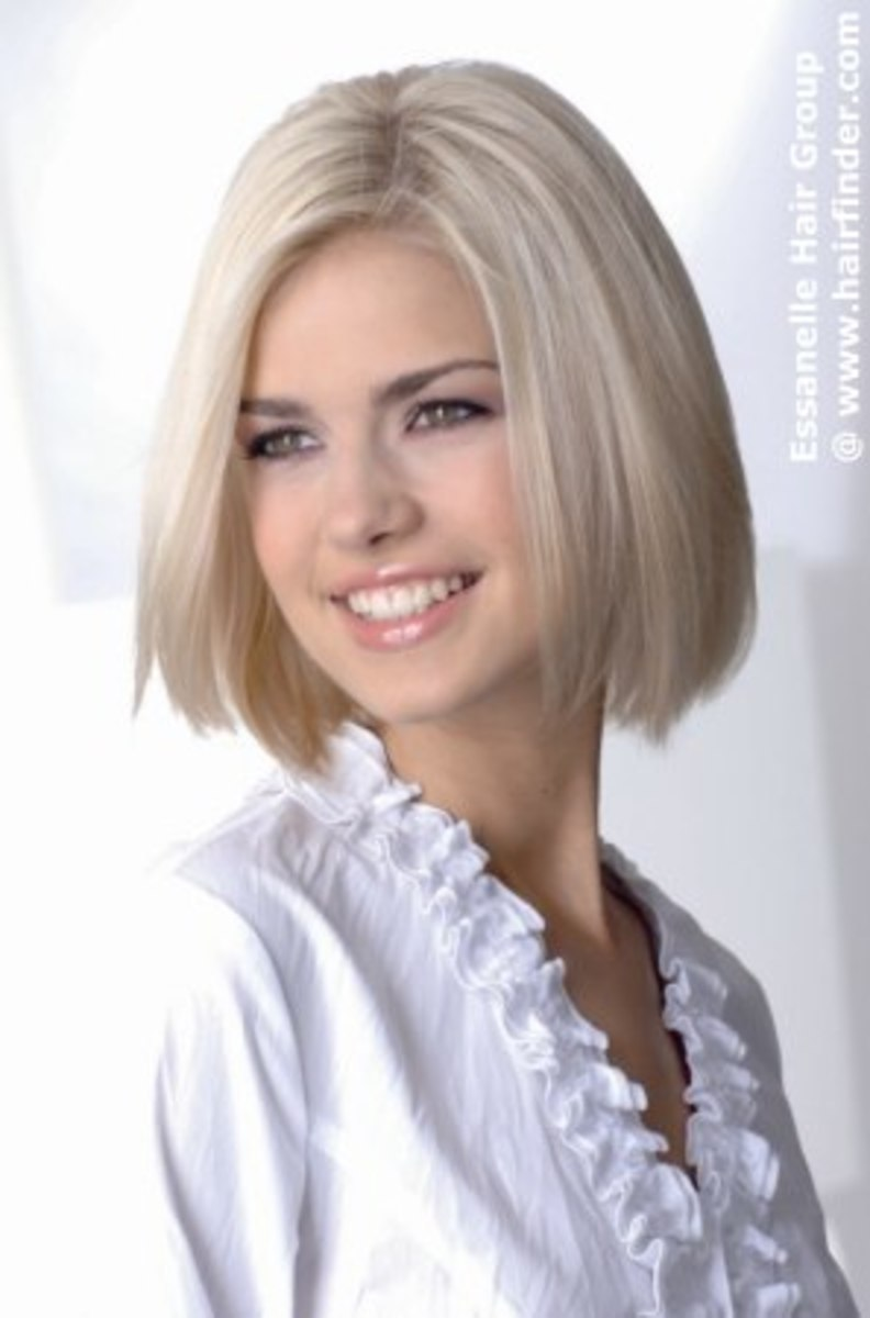 edgy looking sexy bob hair style