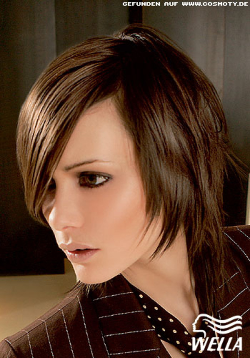 angled bob hair styles for women