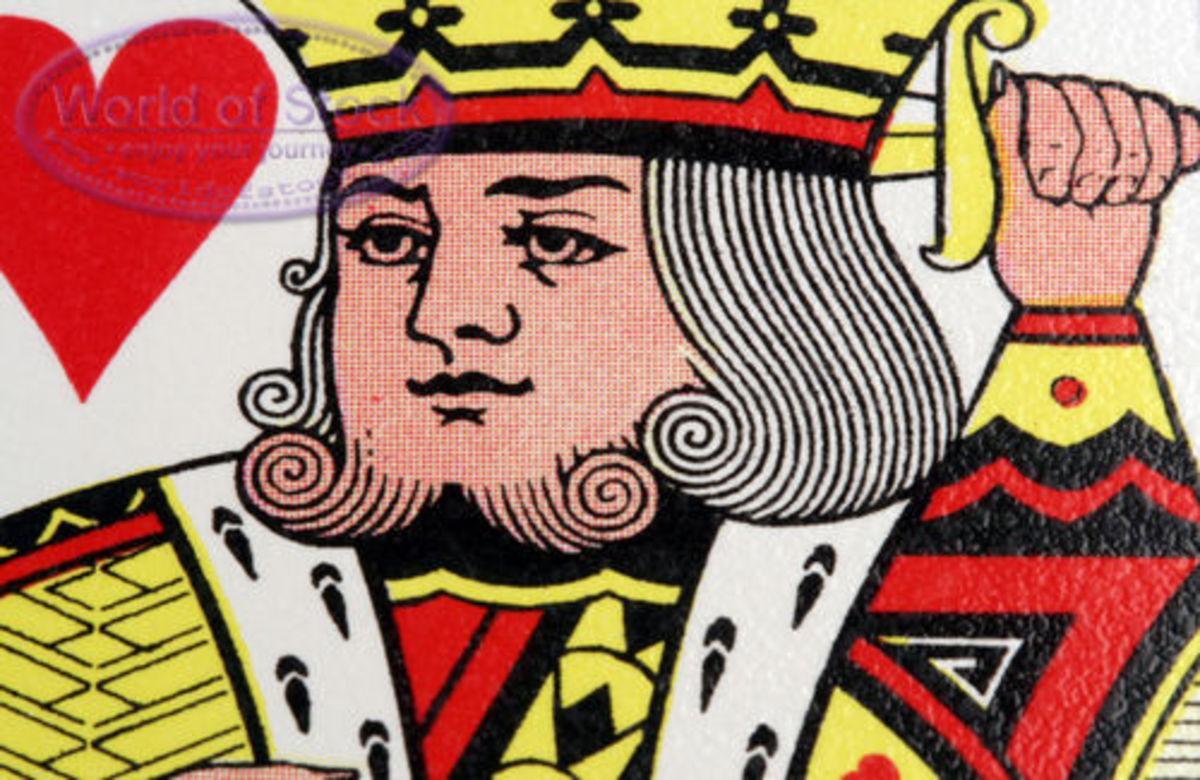 King of hearts courtesy WorldofStock.com