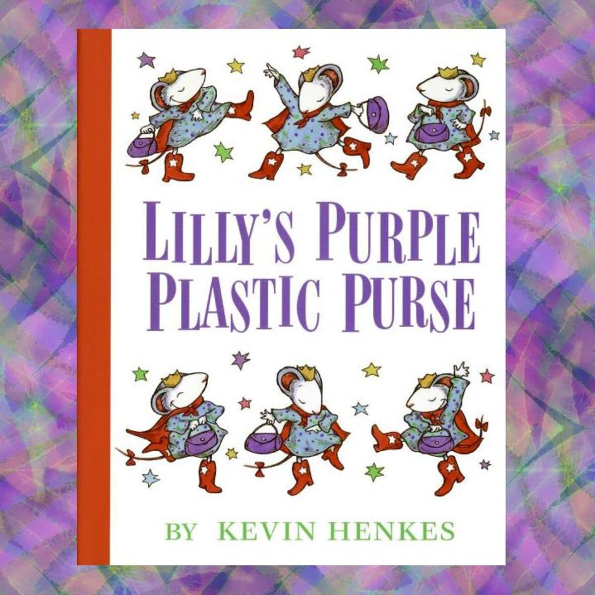 Lilly's Purple Plastic Purse book cover.