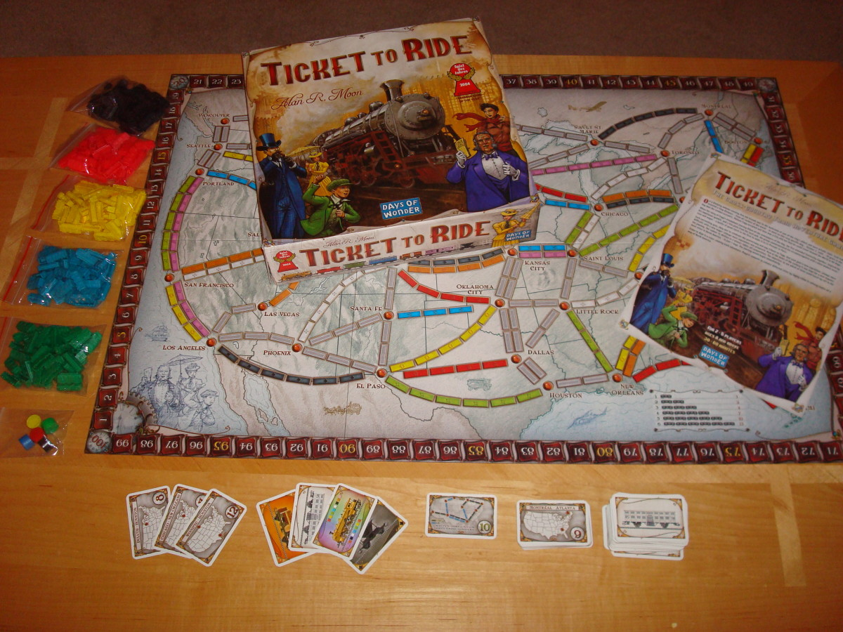 Ticket To Ride – Learn to Play Ticket to Ride