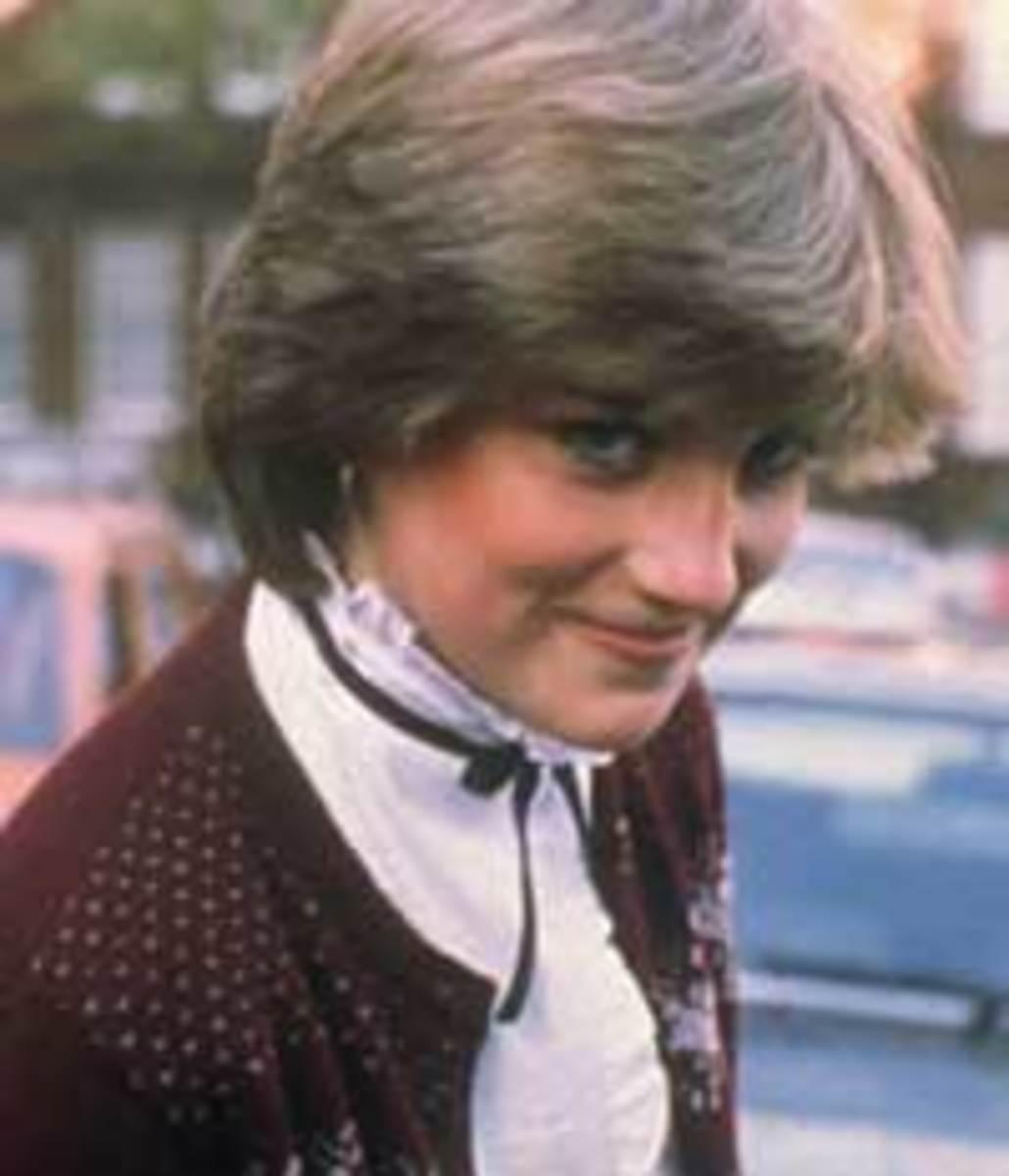 Diana, the children's nanny, in 1980