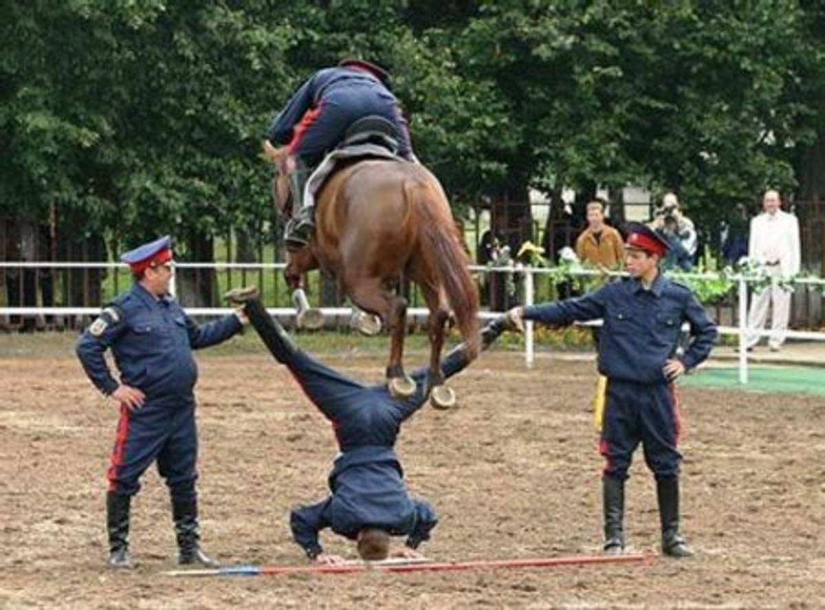 The Royal Mounted Brigade held a public demonstration today of an innovative new solution for the population explosion.  The new method is currently under official review, and will become compulsory by the time you reach the end of this sentence.