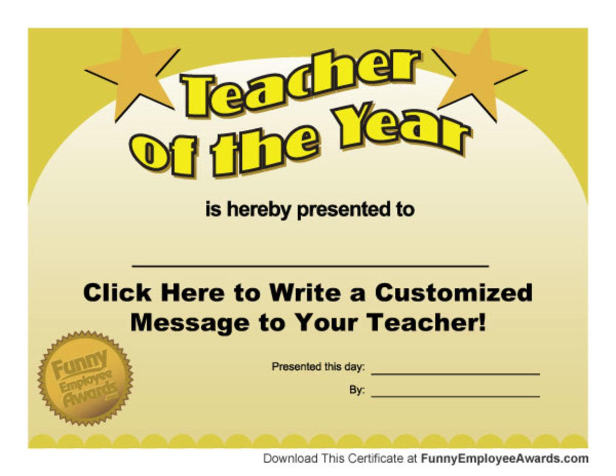 Scholar Theme Funny Awards