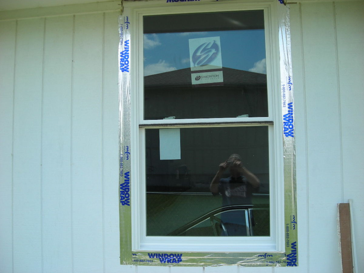 TAPING OVER THE NEW SIDING AND BEYOND