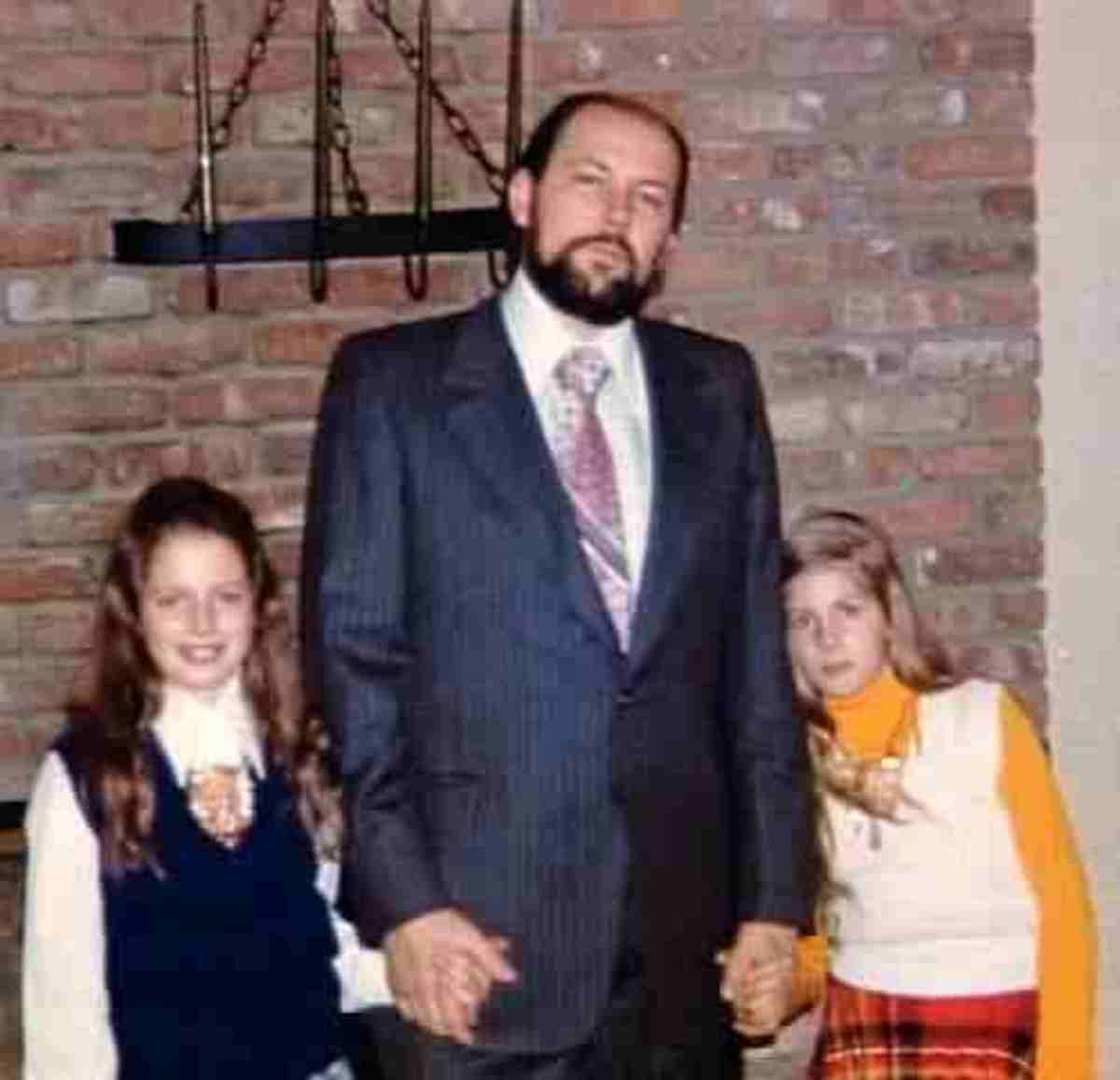 Respectable Family Man - With His Daughters