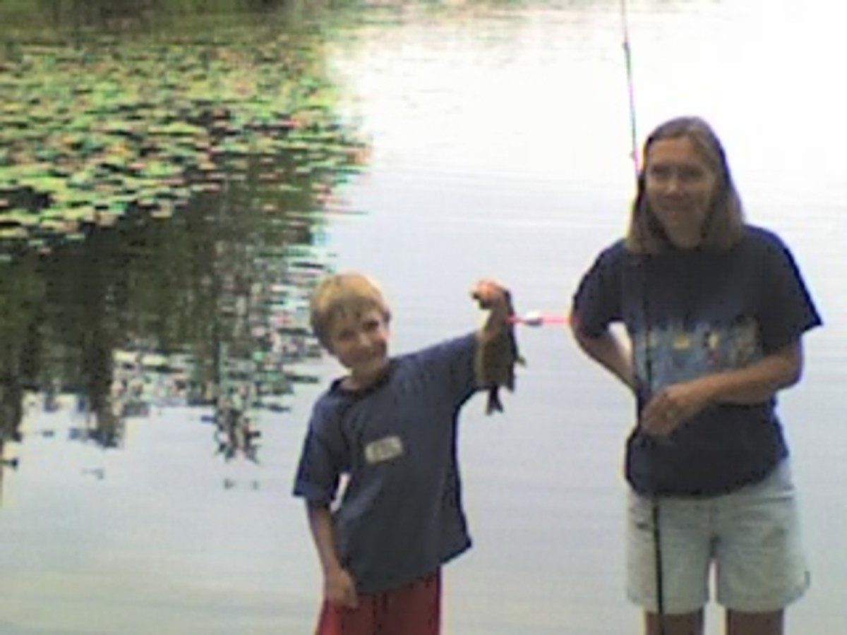 Fishing is a fun family activity, and you just might learn something too!