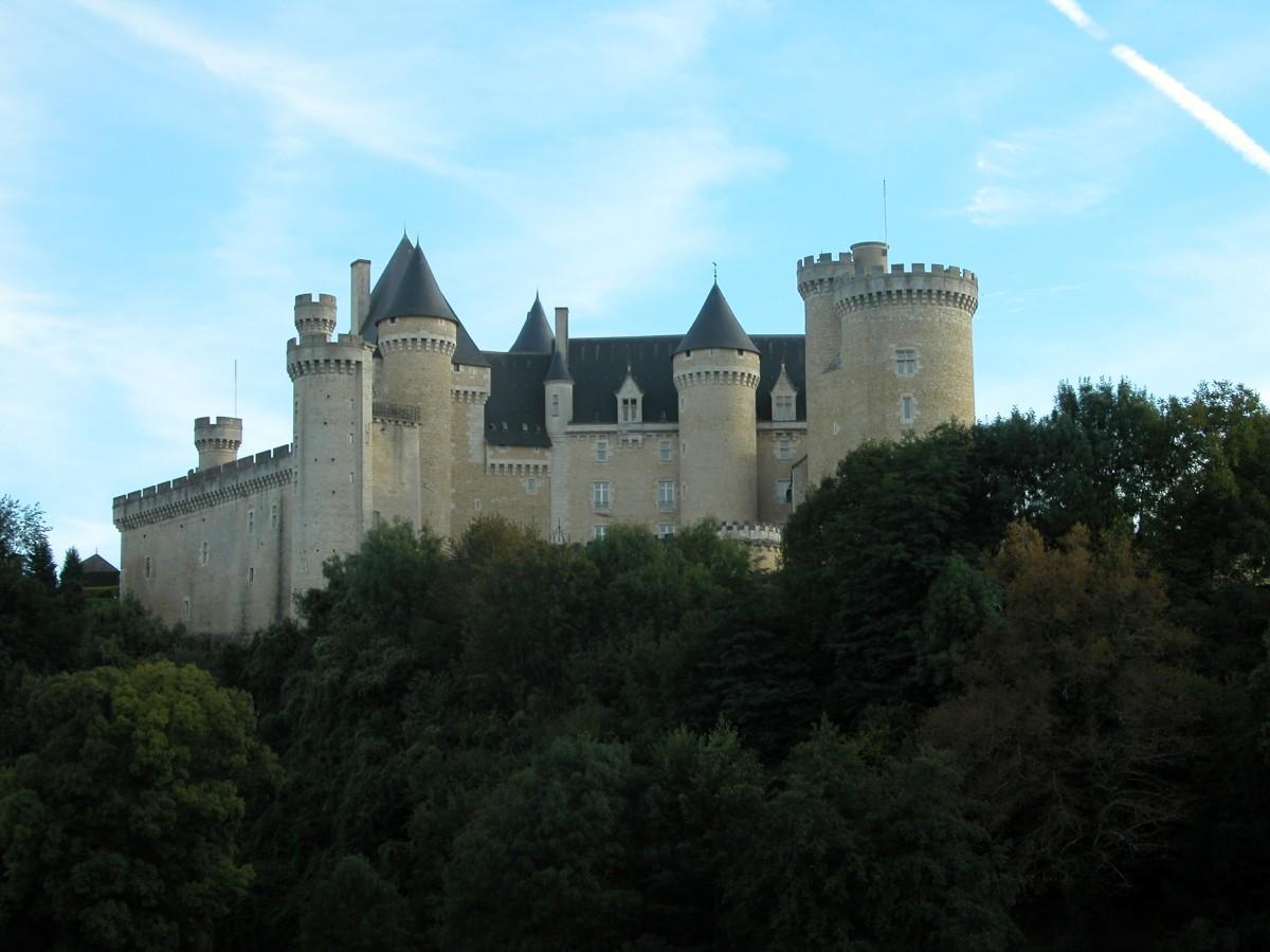 Chateau de Chabenet, Indre, France