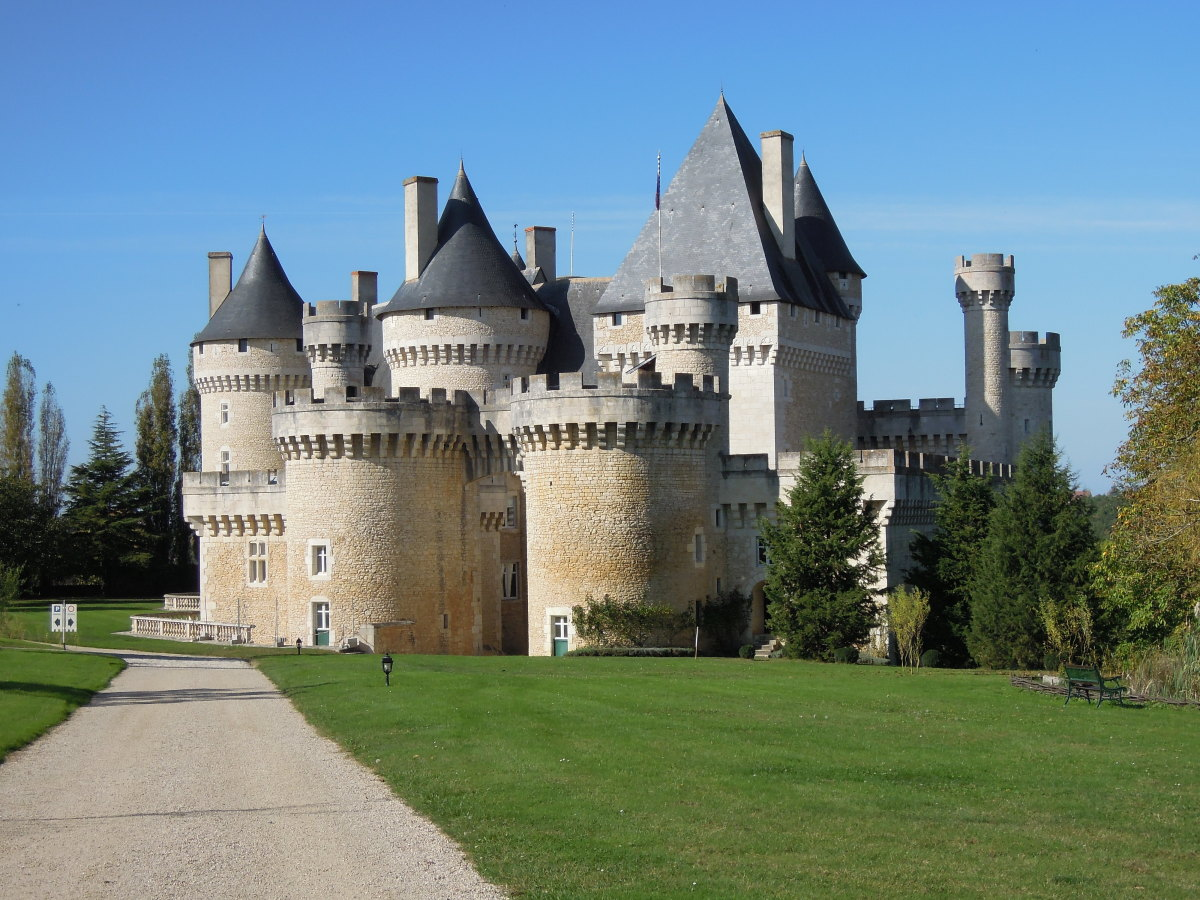 Château de Chabenet at Le Pont-Chrétien-Chabenet, Indre, France.