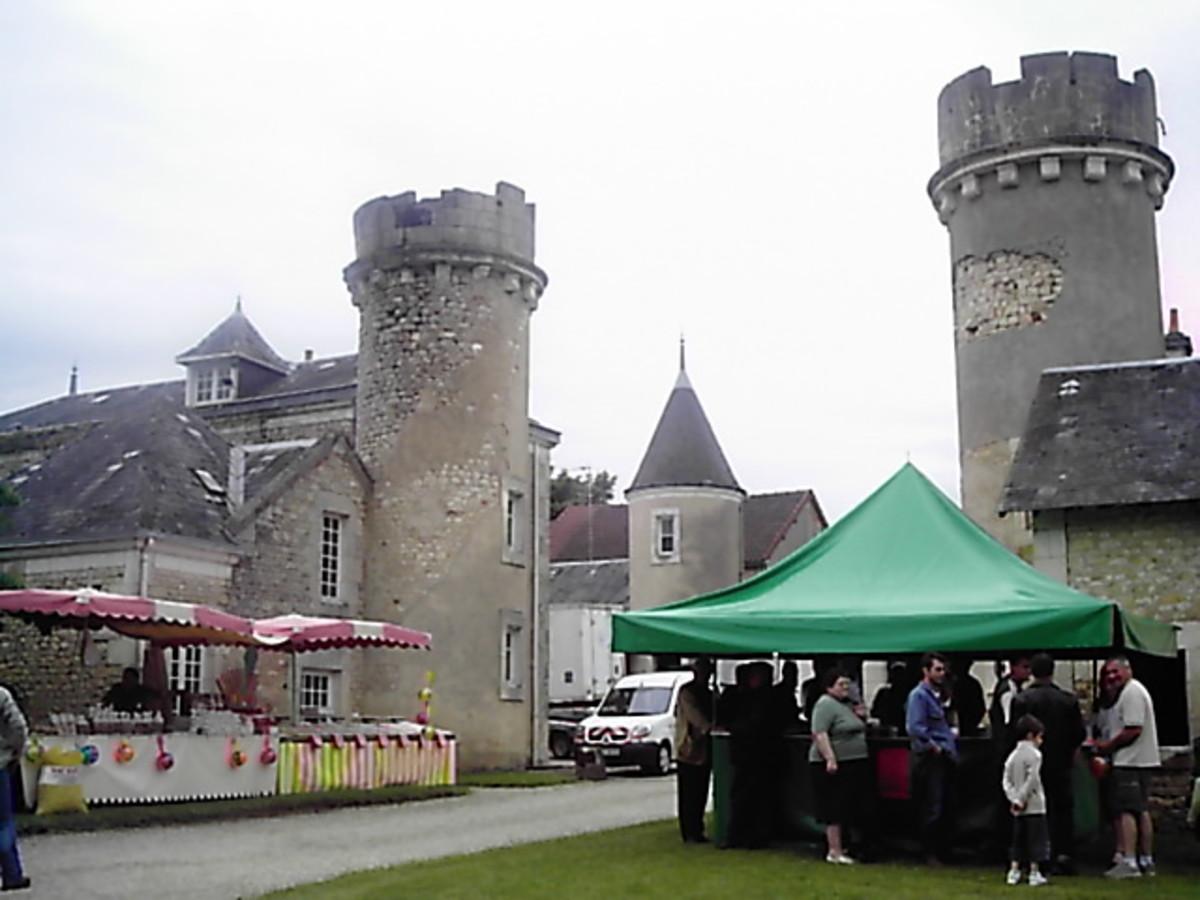 Salon de la Chasse, Chateau de Chabenet.