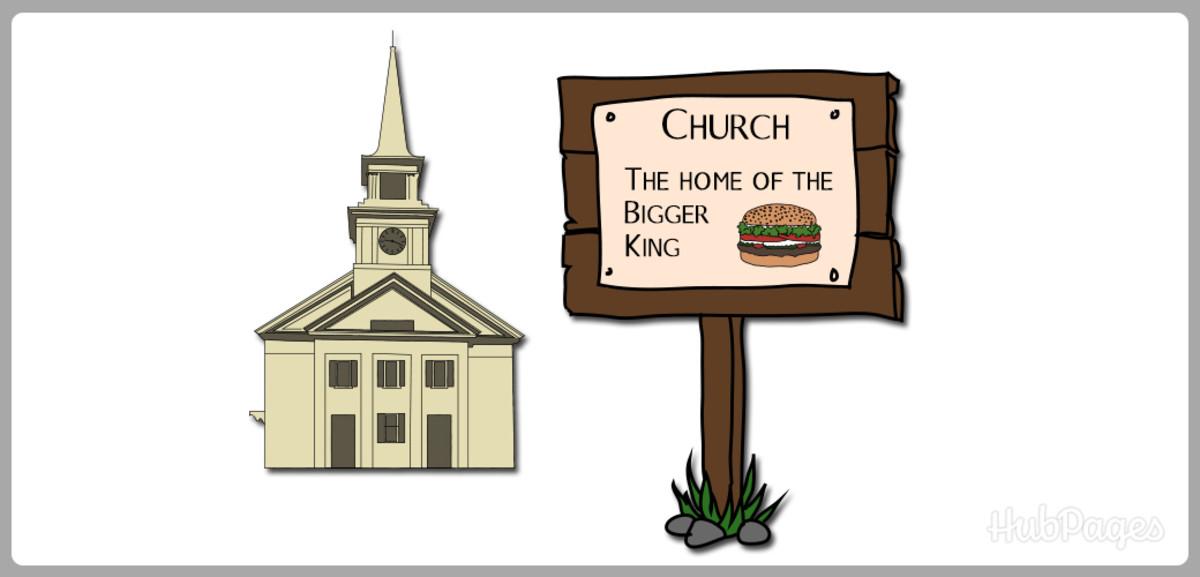 Even religious organizations use clean jokes.