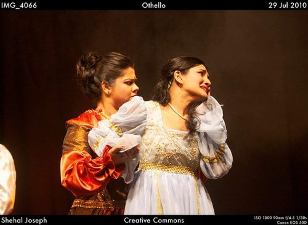 "Emilia and Desdemona: ""Othello"" characters more similar than you think"