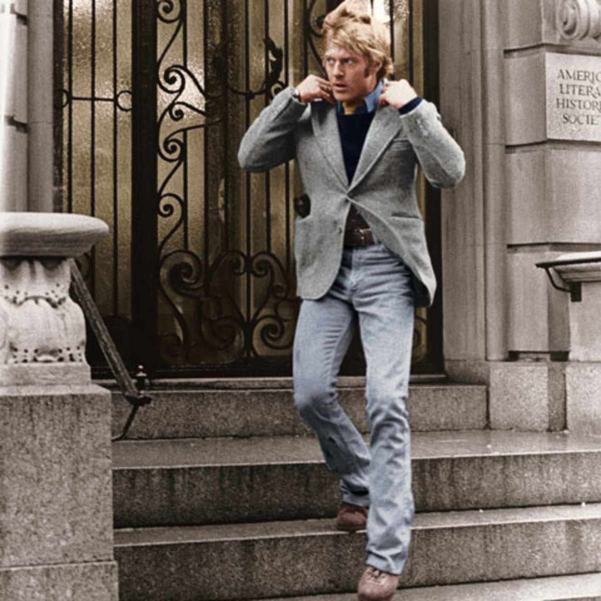 Robert Redford: This outfit would still look sexy today.