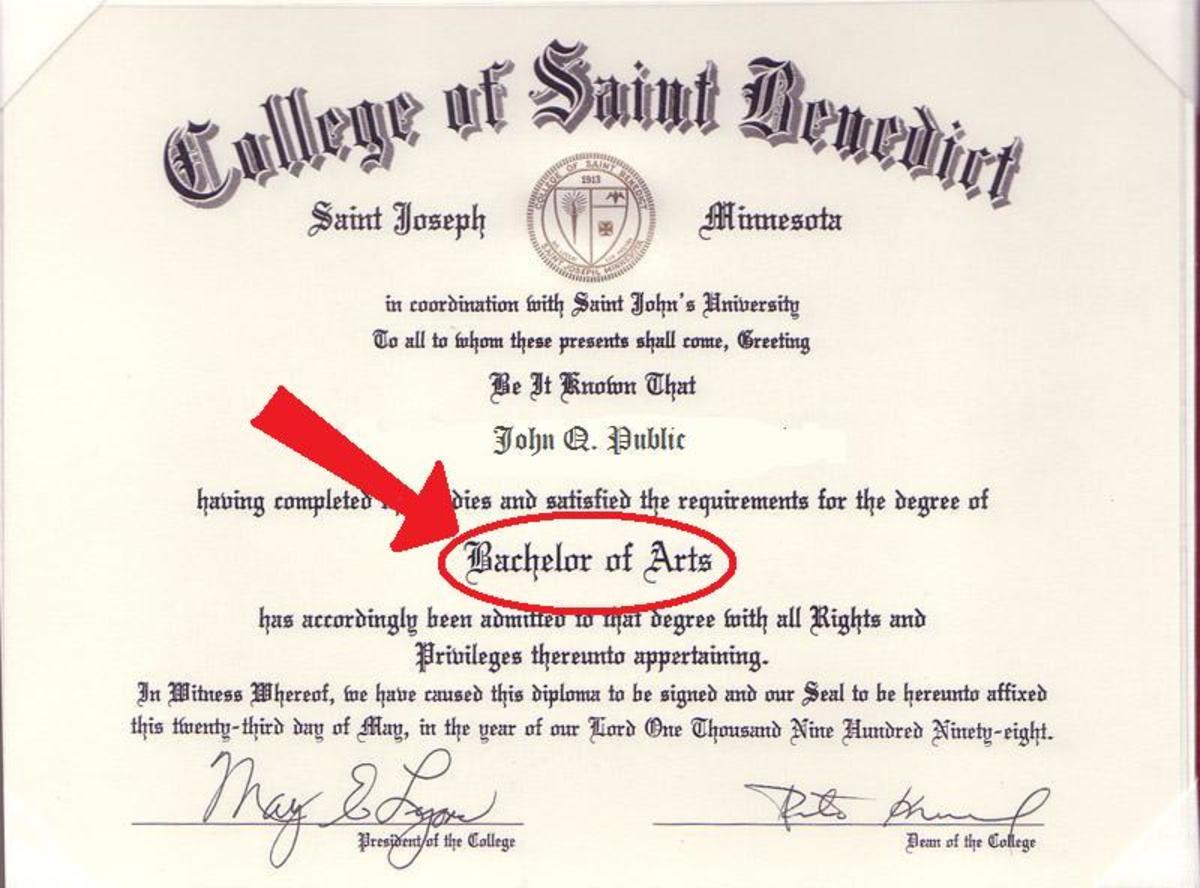 hardest bachelor degrees written check examples
