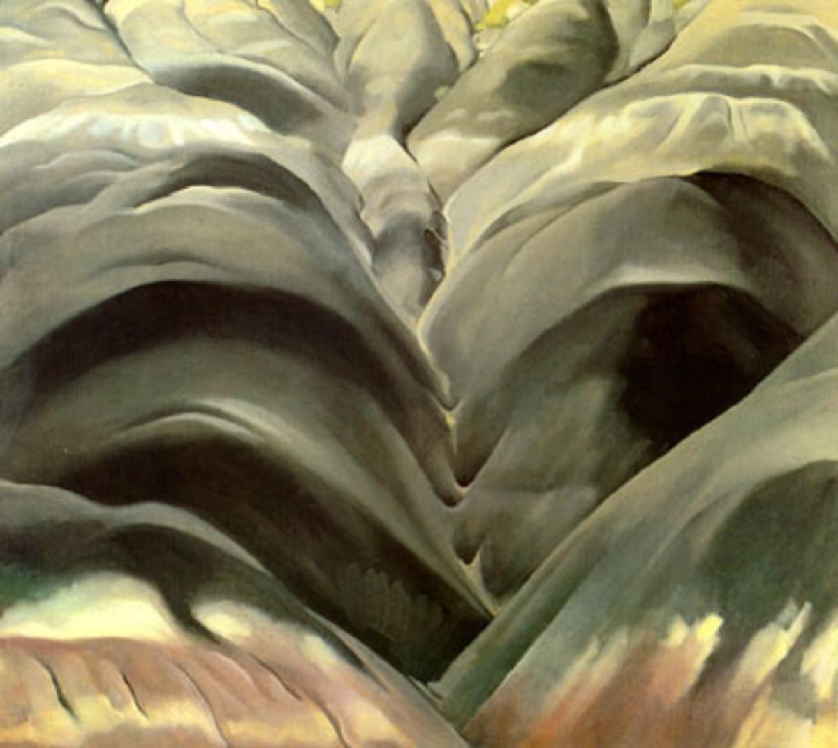 Georgia O'Keeffe Landscape