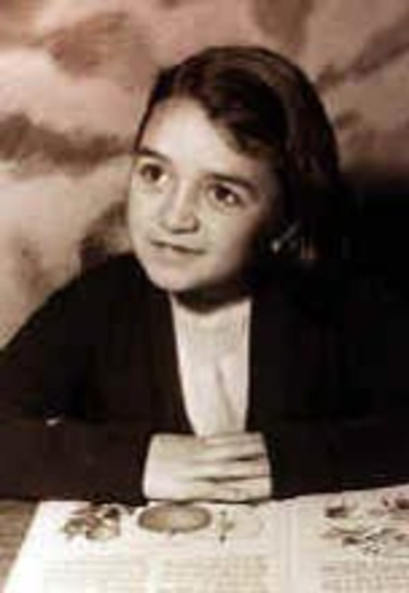 Rose as a child