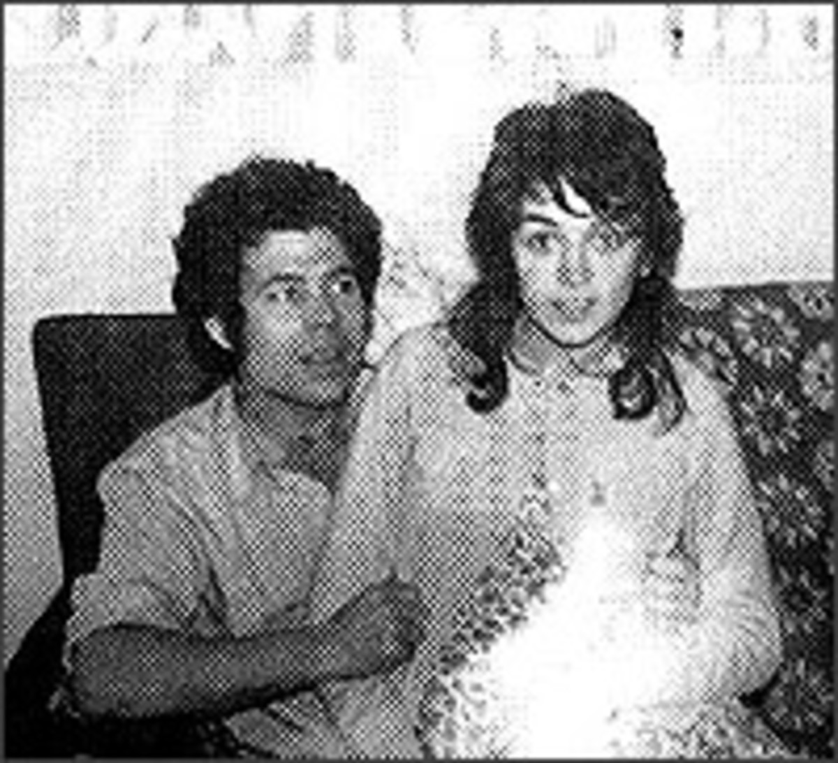 A Young Fred and Rose