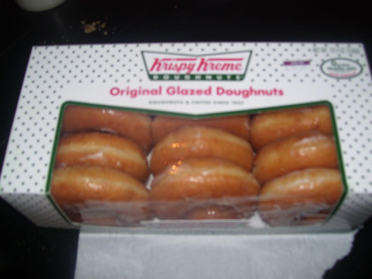 Original Glazed Doughnuts-$4.99 from Albertson's