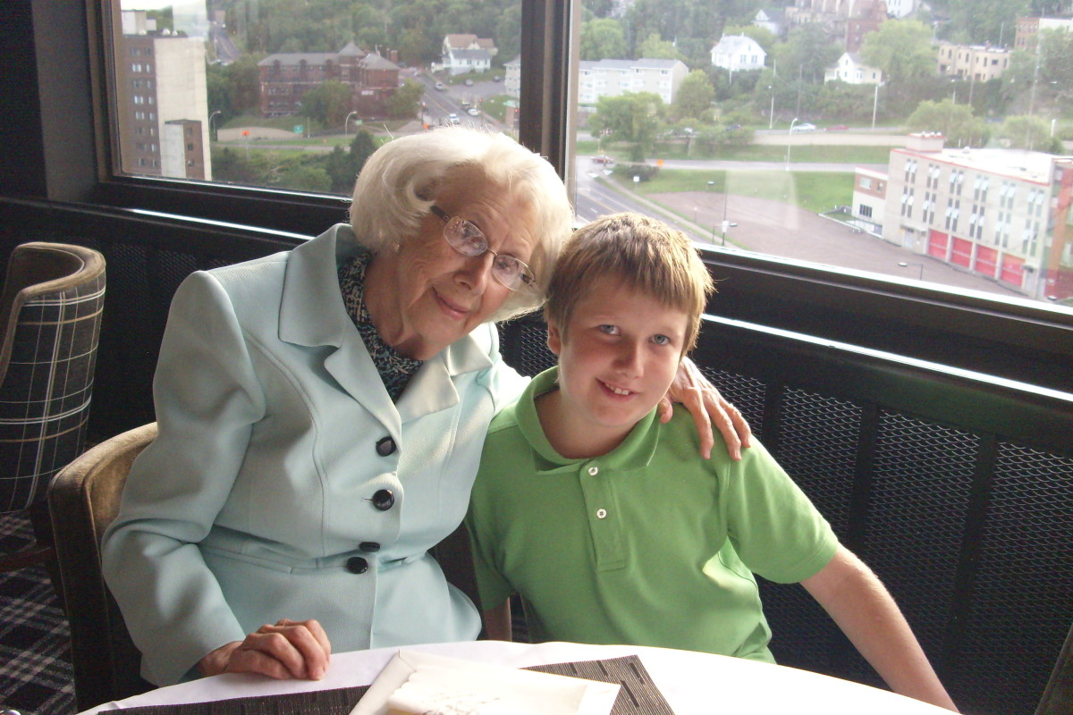 Children learn a lot when the enjoy the company of their grandparents.