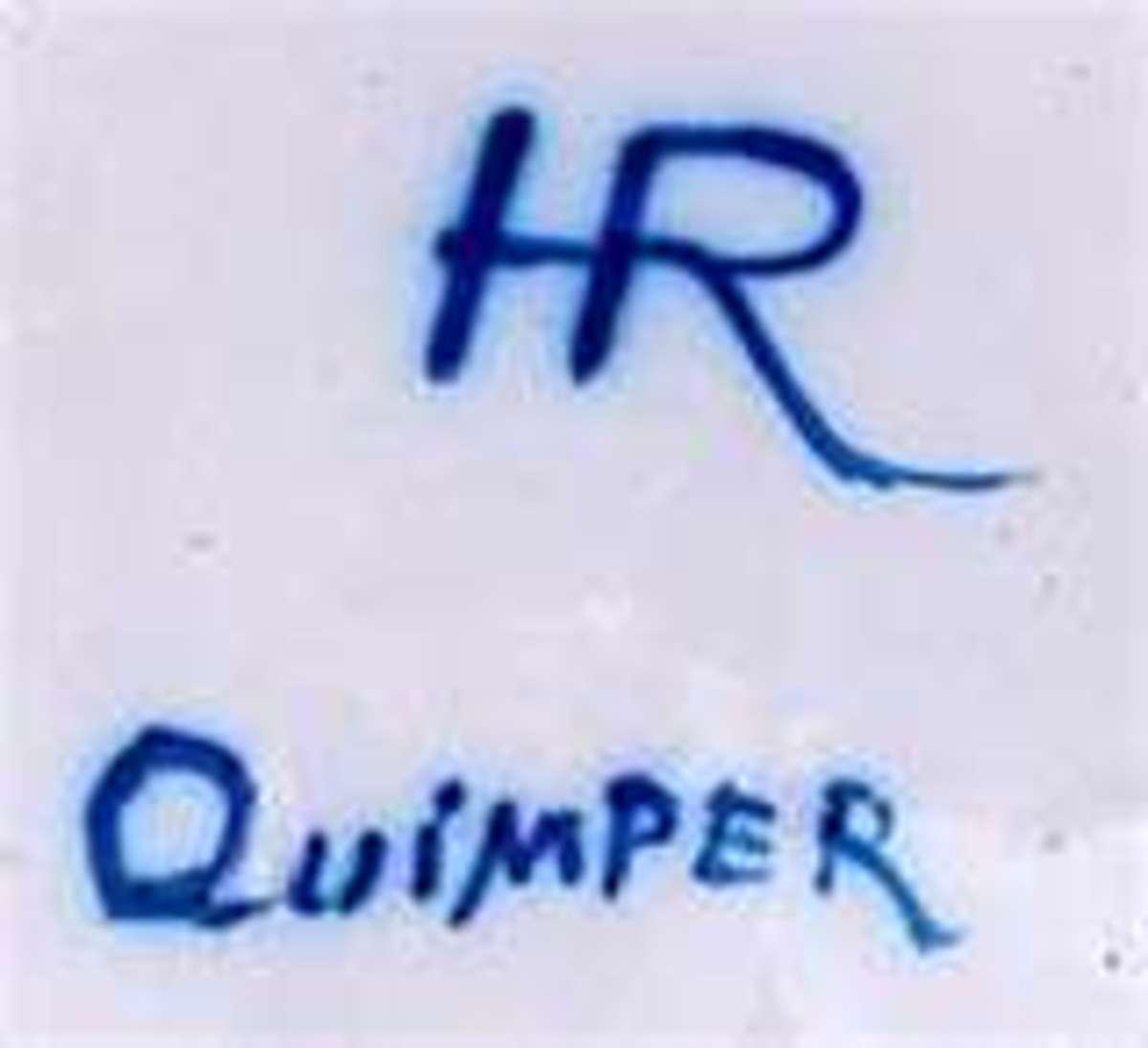 Quimper China mark